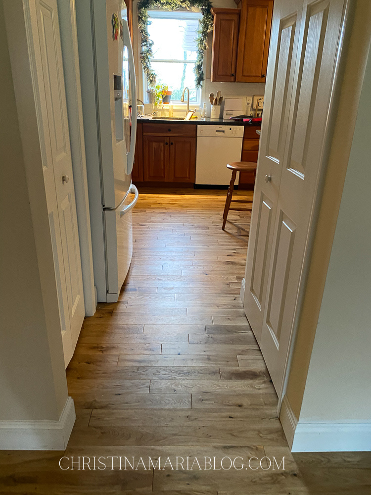 matte finish weathered oak flooring