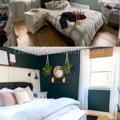 Peaceful Master Bedroom Makeover