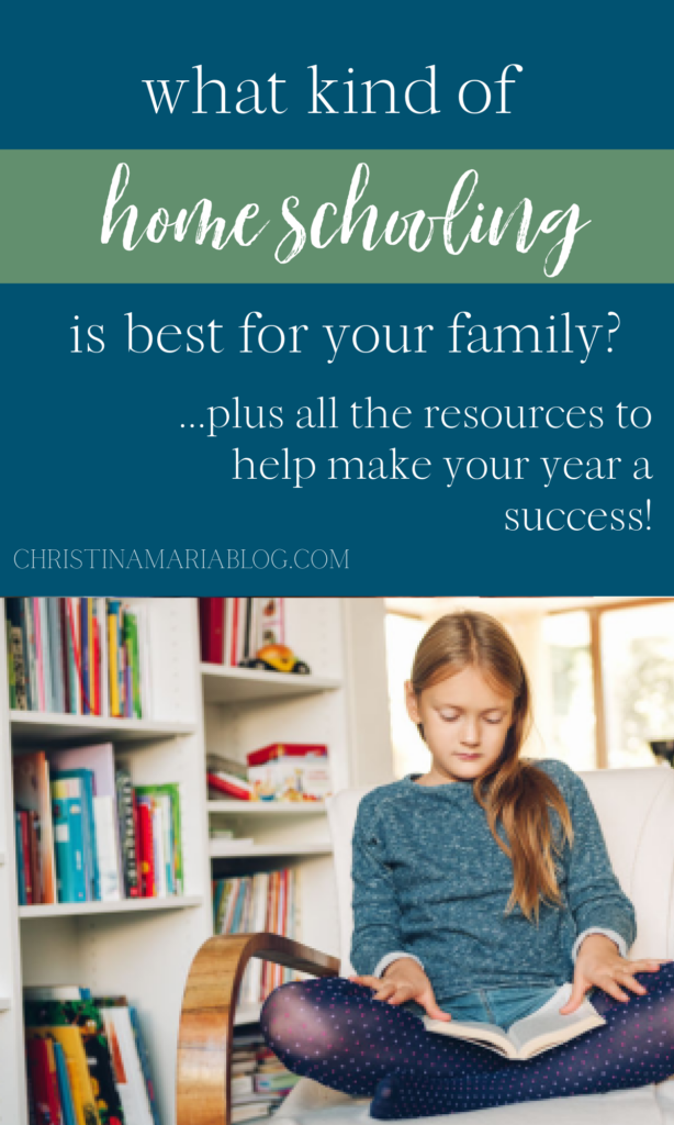 what kind of home school curriculum is best for your family