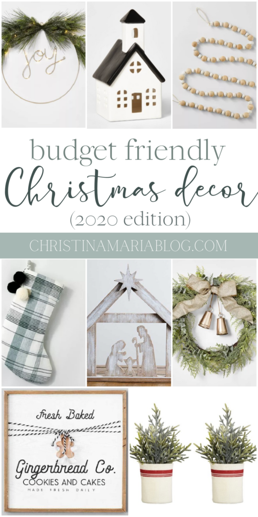 Christmas decorations that are actually affordable for Christmas 2020