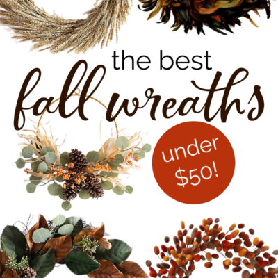 Fall wreaths under $50