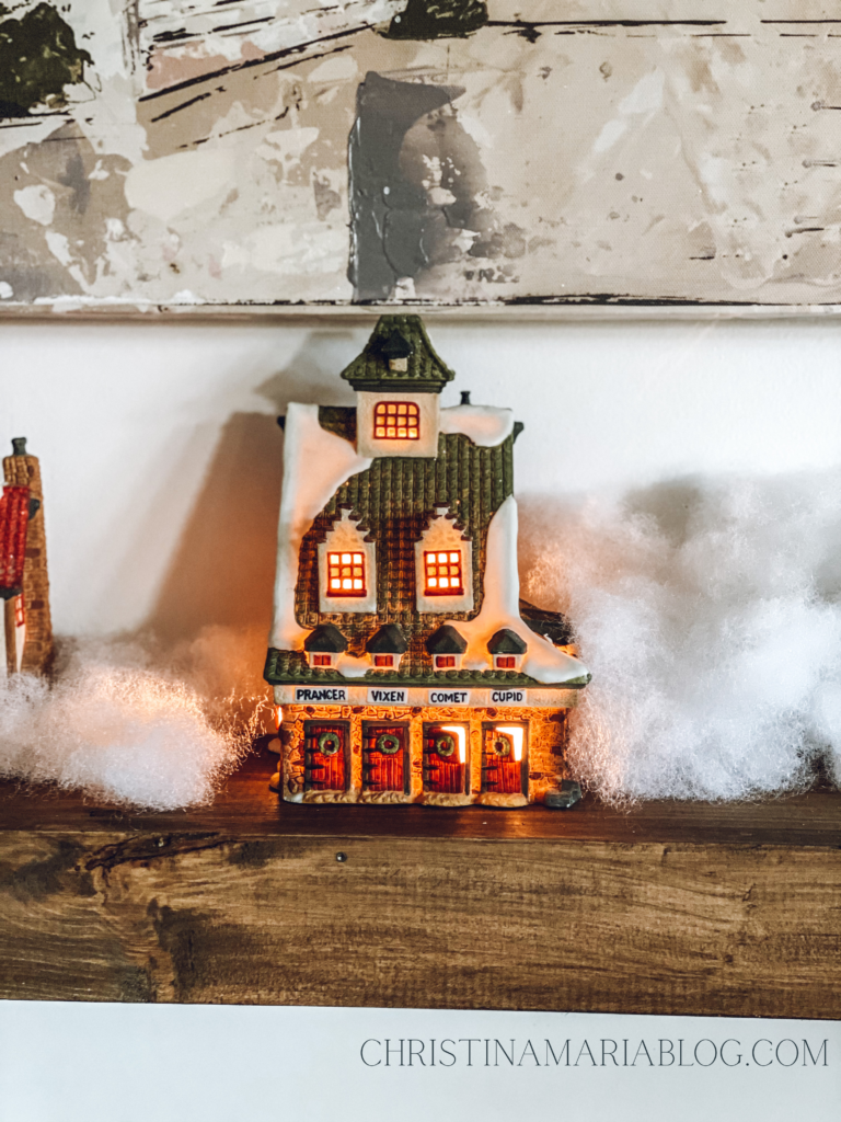 Department 56 Christmas house