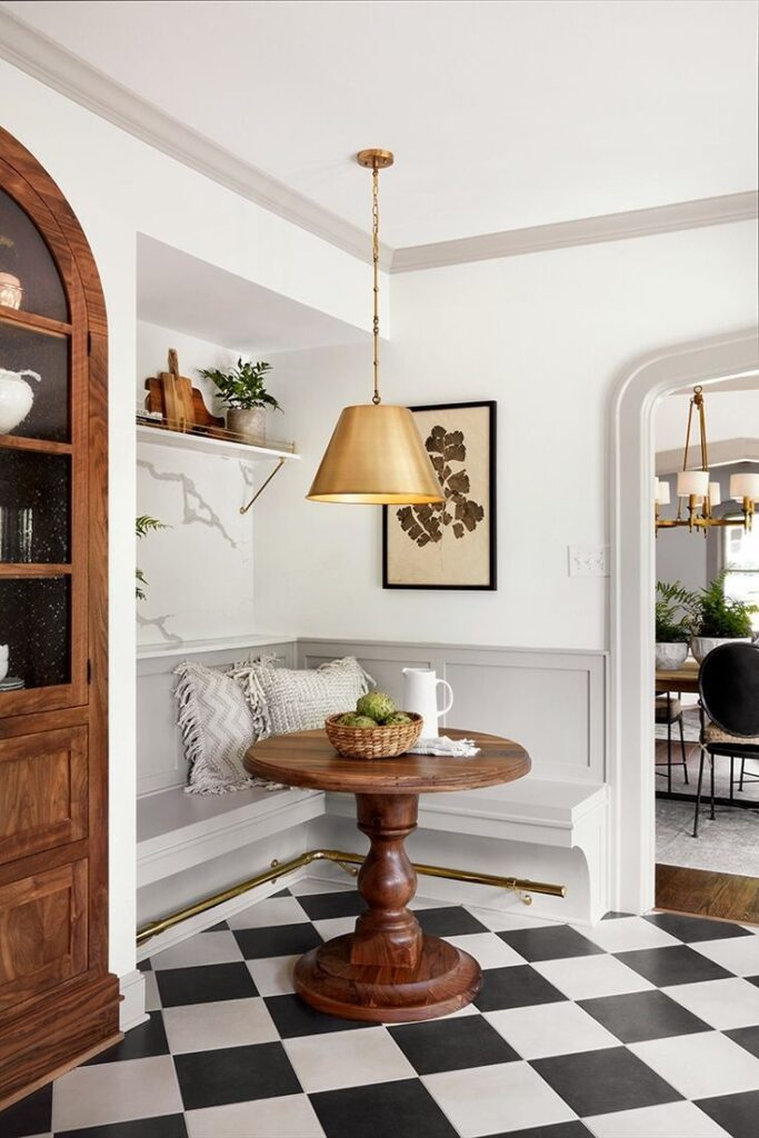 corner banquette ideas