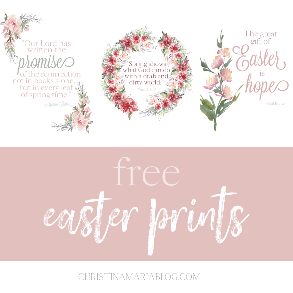 free printable Easter quotes