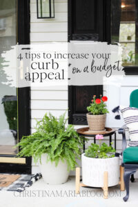 increase curb appeal on a budget