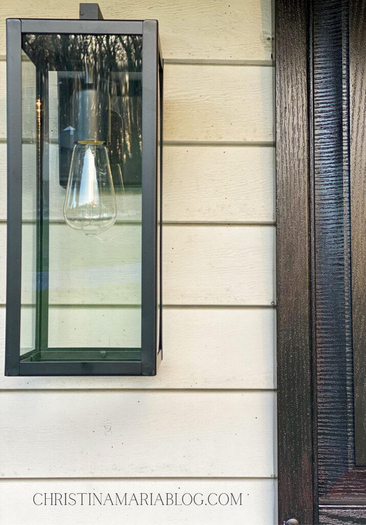modern outdoor light fixture