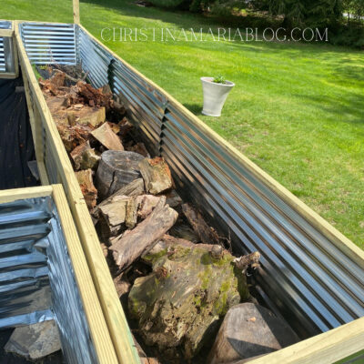 How to fill raised garden beds without spending a lot of money