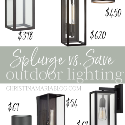 Outdoor lights under $100