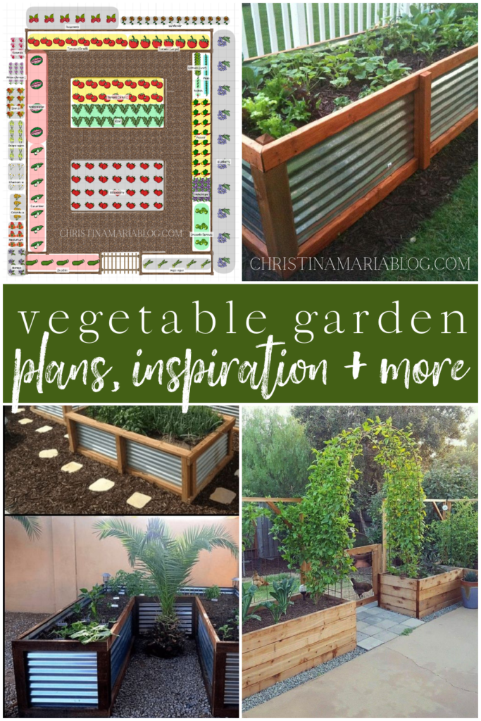 vegetable garden plans and inspiration