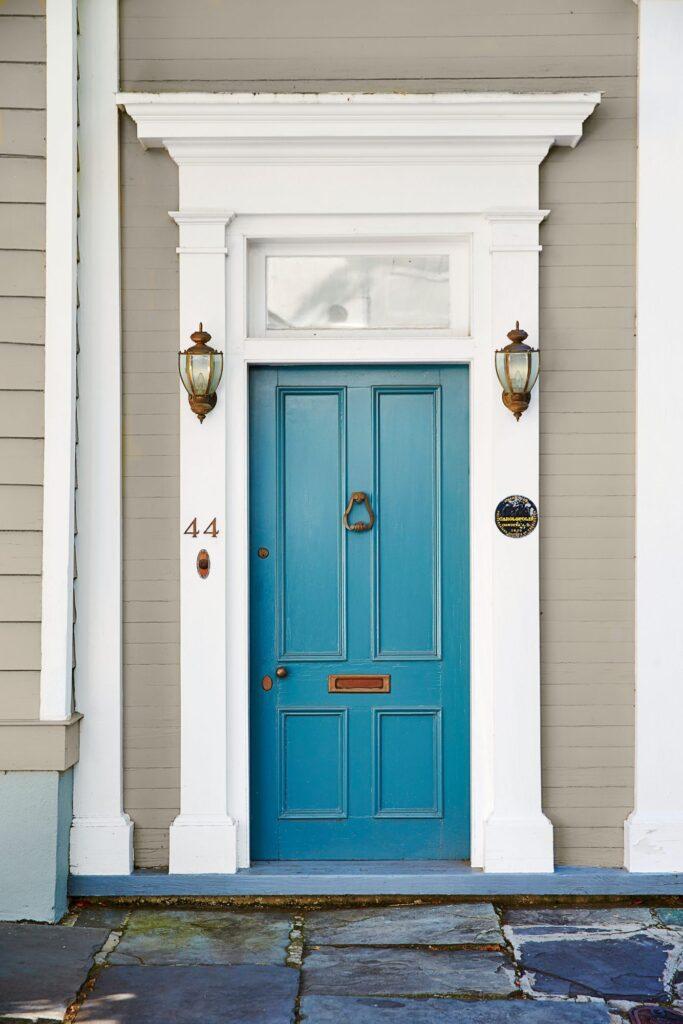 daydream pratt and lambert blue front door